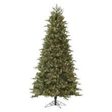 Árbol de Navidad artificial con decoración de cristal Artesanía de Navidad (TU75.300.01)