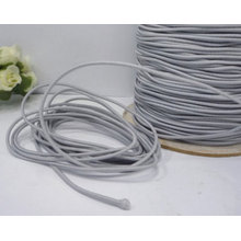 3mm round coiled elastic cord rope