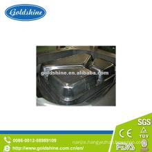 Compartment Aluminium Foil Food Service Container Mould Making Equipment