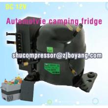 réfrigérateur congélateur à la maison solaire de réfrigérateur de CC 12v 24v avec le compresseur de réfrigérateur de 12v