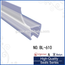 diamond-shaped weather seal strip for 135 degree glass