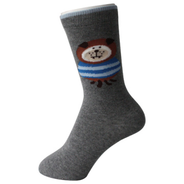Grey Bear Boy Socks
