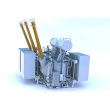Transformateur de puissance triphasé à 2 enroulements 2000kVA 33kV avec OLTC