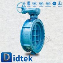 Didtek API Cast Steel Welded Butterfly Valve