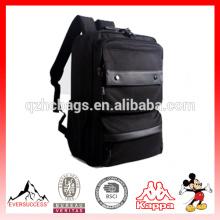 Faculdade mochila zíperes alta capacidade mochila de viagem leve bolsa de ombro para 15.6 polegada laptops