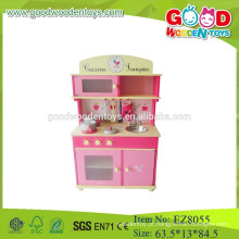 Cozinha de madeira conjunto de jogos de brinquedos fingir jogar brinquedos conjunto de brinquedos de cozinha