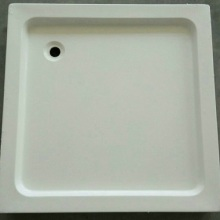 90x90x15cm Corner Drain Square Shower Base