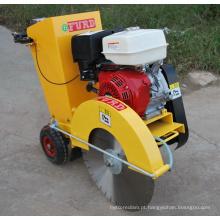 Caminhe atrás da máquina do cortador de estrada de asfalto do motor a gasolina para a superfície FQG-500
