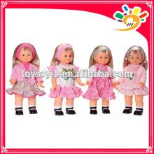 Mode Mädchen Puppe gehen Puppen Spielzeug mit Musik