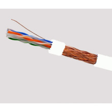 SFTP CAT6 LSZH Cable Fluke Tested Soild Bare Copper White