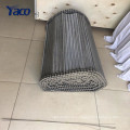 2017 strengthened weaving stainless steel honeycomb wire mesh conveyor