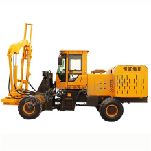 High quality Fence guardrail post driver Piling Machine with air compressor
