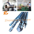 Bimetallic Screw in Type Tungsten Carbide for Injection