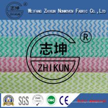 Tela no tejida colorida de Spunlace para la cocina (38g-100g)
