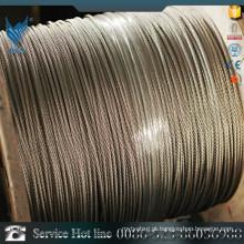 ASTM A276 AISI321 Cabo de aço zincado galvanizado