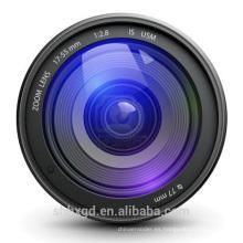 lente barata del proyector del fisheye del precio de la alta calidad lente de fisheye de 180 grados