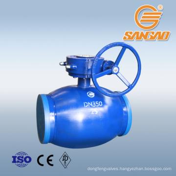 regular full bore weld ball valve cf8m weld api standard weld ball valve