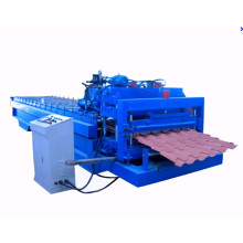 Yx38-210-840 Automatic Glazed Tile Metal Roofing Machine