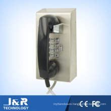 Prison Security Phone Stainless Steel Body Vandal Resistant for Jail Used