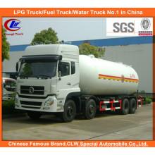 8X4 Donfeng gás GPL entrega 12wheel caminhão tanque de transporte de propano