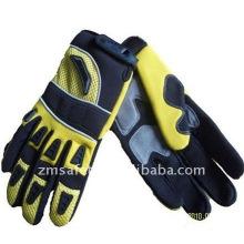 Highly abrasion resistant safety mechanic sport gloves ZM894-H