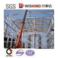 Hangar de construction en acier de construction préfabriquée