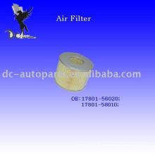 Auto cartucho de filtro de ar de Toyota