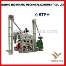 High Benefit Low Invest Mini planta automática de molinería de arroz