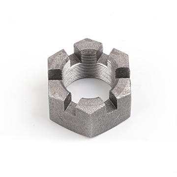 Custom Chinese factory Stainless Steel Castle Slotted Hex Nuts