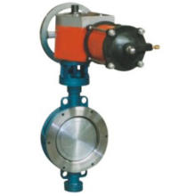 Water Treatment Metallic elastic sealing butterfly valve
