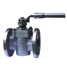 China Factory API Sleeve Flanged Stainless Steel Plug Valve