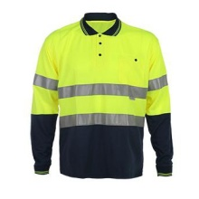 2017 Long Sleeve Reflective Safety T-Shirt