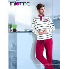 Miorre hombres pijama de algodón pijamas conjunto