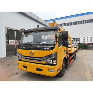 Dongfeng 4ton Section 3traight arm Кран-манипулятор