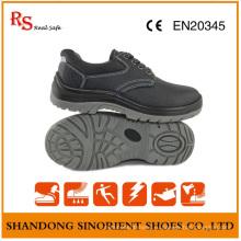 ПУ Подошва черный стали дешевые ботинки безопасности RS812