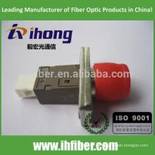 FC / UPC-MU / UPC Adaptador de fibra óptica Single mode