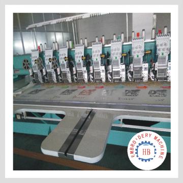 machine de broderie informatisée de haute qualité de vente chaude en Inde