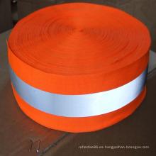cinta material de alta seguridad reflectante de alta visibilidad para coser
