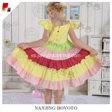The latest rainbow princess party dress