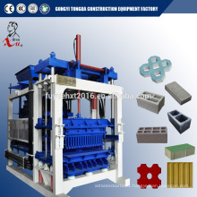 QT6-15 machine for cinder block with youtube video in Egypt