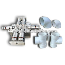 two cavity pvc tee mould