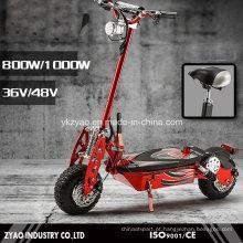 Folding Portátil 2 Rodas Electric Power Scooter 1000W para Adult China Factory