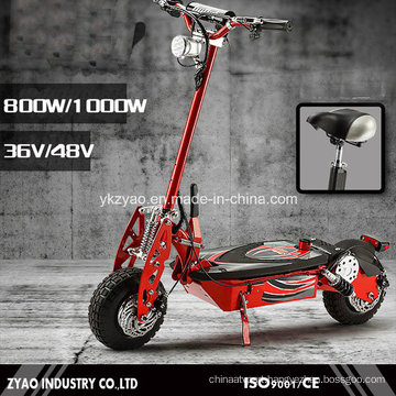 Folding Portable 2 Wheels Electric Power Scooter 1000W for Adult China Factory