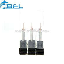 Espessura do moinho de extremidade do diâmetro do micro carboneto de BFL 0.1 / 0.2 / 0.3 / 0.4 / 0.5 / 0.6 / 0.7 / 0.8 / 0.9MM