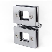 Stainless steel glass door hinge for bathroom door