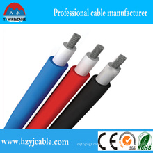 XLPE Double Insulated Photovoltaic Solar Cable, TUV Approved UV Resistance 4mm2 Solar Cable