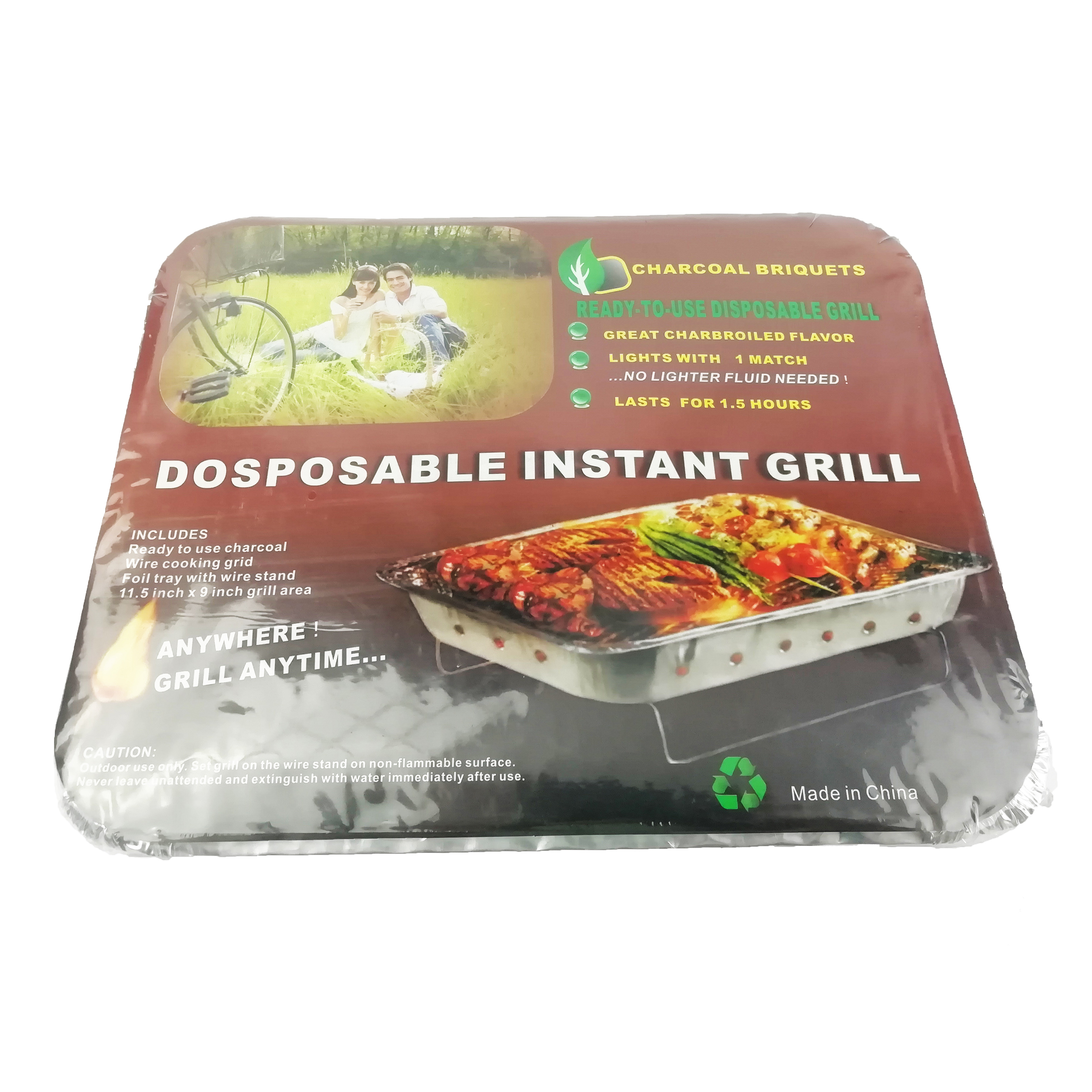 DOSPOSABLE instant grill