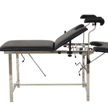 Gynecological delivery bed hospital examination obstetric table