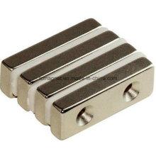 Block Magnete mit Counter Sunk Löcher
