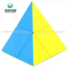 Learning Educational Game Decompression Triangle Pyramid Magic Cube